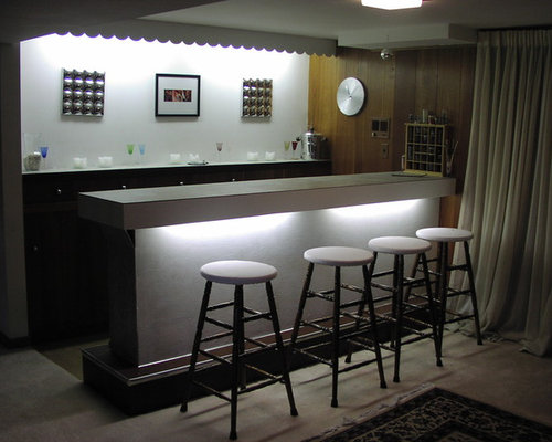 modern basement bar ideas, pictures, remodel and decor