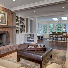 Traditional Family Room by Englund Construction, Inc.