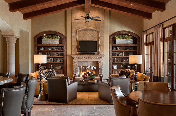 Traditional Family Room by Ownby Design