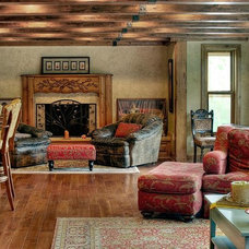Traditional Family Room by Renovation Design Group