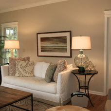 Traditional Family Room by Left Bank Home