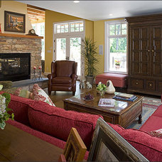 Traditional Family Room by Bowers Design Build