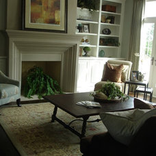 Traditional Family Room by Interior Enhancement Group, Inc.