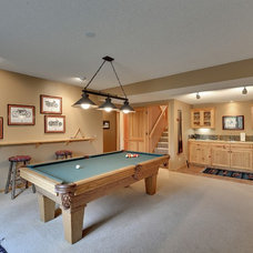 Traditional Family Room by Iverson Homes