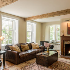 Traditional Family Room by Period Architecture Ltd.