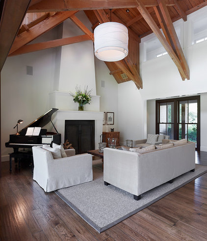 Traditional Family Room by Taylor Lombardo Architects