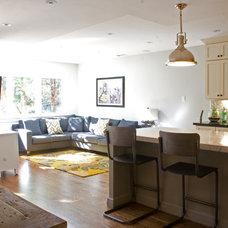 Transitional Family Room Residence Main Floor