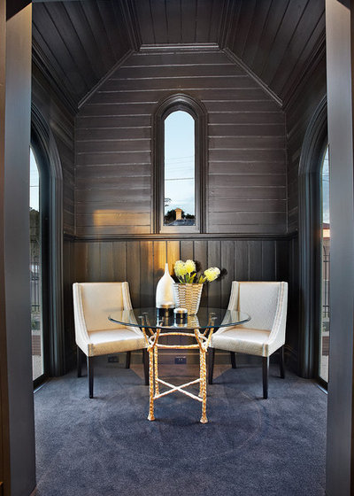 Contemporary Family Room by Bagnato Architecture & Interiors