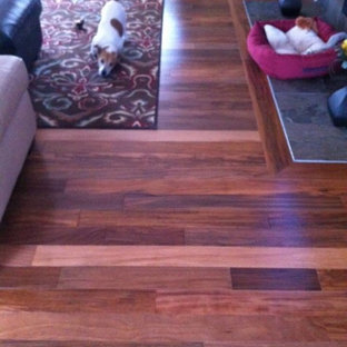 Residential home featuring Peru Tigerwood