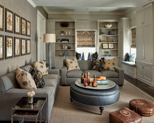 Traditional Family Room Design