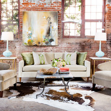 Eclectic Family Room by Patrick Heagney Photography