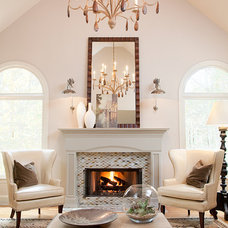 Traditional Family Room by Patrick Heagney Photography