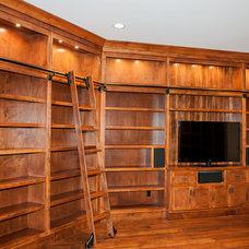 Traditional Family Room by Advance Cabinetry