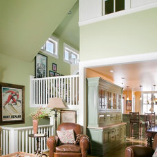 Traditional Family Room by Coburn Development