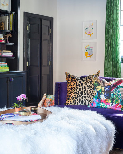 Eclectic Family Room by Holly Phillips @ The English Room