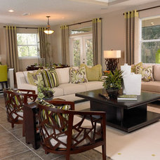 Contemporary Family Room by Richmond American Homes - Jacksonville