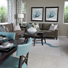 Traditional Family Room by Richmond American Homes - Las Vegas