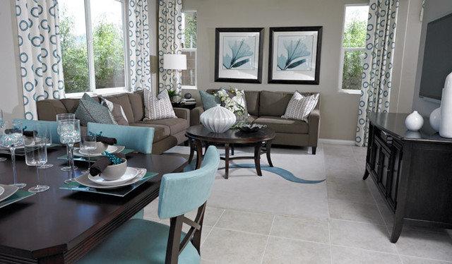 Traditional Family Room by Richmond American Homes - Las Vegas