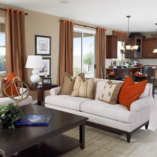 Contemporary Family Room by Richmond American Homes - Phoenix