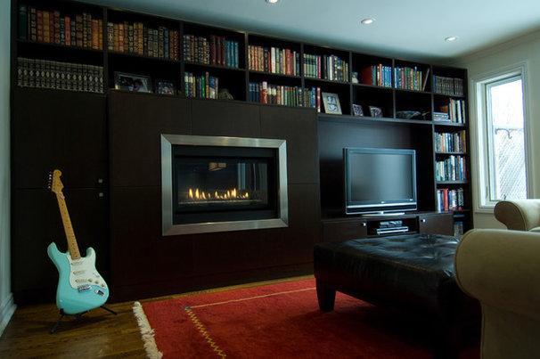 Modern Family Room by BiglarKinyan Design Planning Inc.