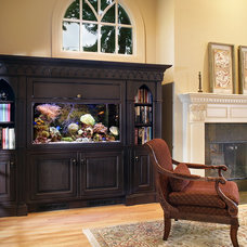 Traditional Family Room by The Hammer & Nail, Inc.