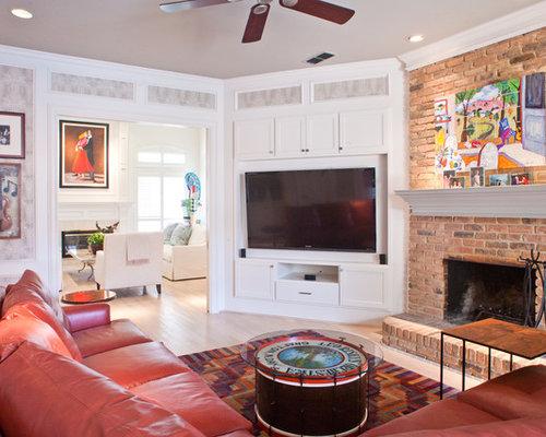 Tv Over Corner Fireplace Houzz