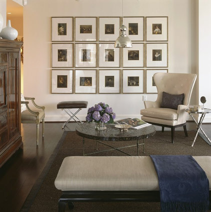 Contemporary Family Room by Patrick Sutton Associates