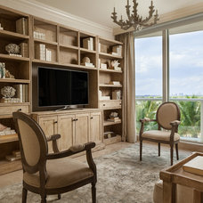 Beach Style Family Room by Willoughby Construction