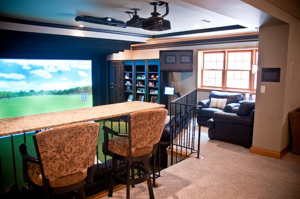 Eclectic Basement by The WAIRE Group