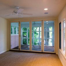 Contemporary Family Room by Texas Construction Company