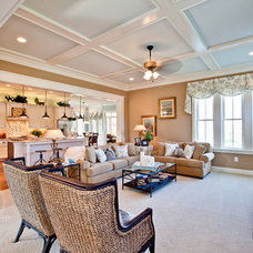 Traditional Family Room by Stephen Alexander Homes & Neighborhoods
