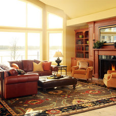 Traditional Family Room by Emery & Associates Interior Design