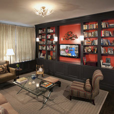 Eclectic Family Room by Perianth Interior Design