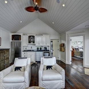 Idee per un soggiorno stile rurale