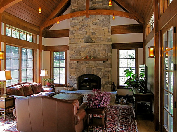 Traditional Family Room by Siegman Associates, Inc.