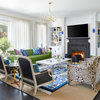 Houzz Tour: Bold Color and Patterns in a Couple's Chicago Condo