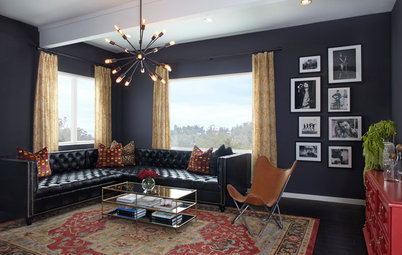 Room of the Day: Football, Work and Rock-and-Roll