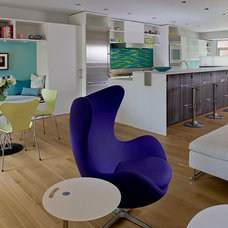 Modern Family Room by COLEPREVOST