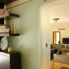 Modern Family Room by Clockwork