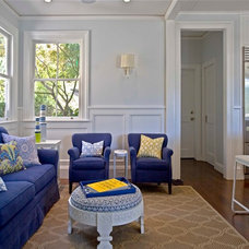 Contemporary Family Room by Seldin Design Studios