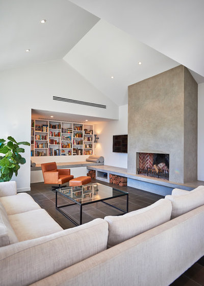 Contemporary Family Room by sw-architects