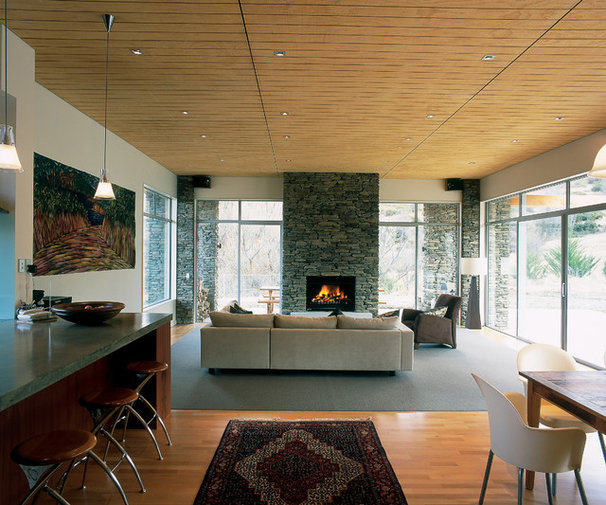 Contemporary Family Room by jessop  architects