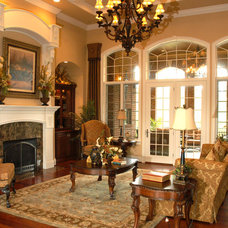 Traditional Family Room by Toebben Builders