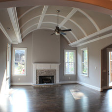 Traditional Family Room by Murphy Home Builders, LLC