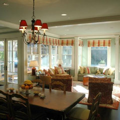 traditional dining room by David Ludwig - Architect