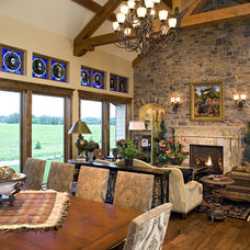 Traditional Family Room by Kieran J. Liebl,  Royal Oaks Design, Inc. MN