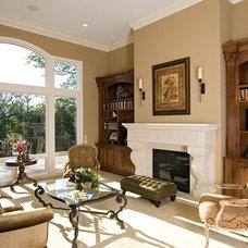 Traditional Family Room by Kieran J. Liebl,  Royal Oaks Design, Inc. MN