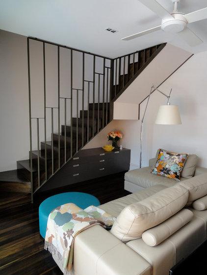 Modern Family Room by Scott Weston Architecture Design PL