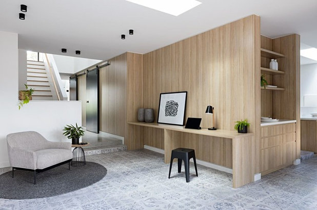 Contemporary Family Room by Inbetween Architecture