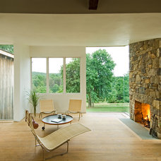 Contemporary Family Room by Meditch Murphey Architects